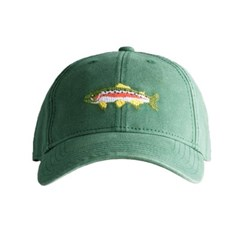 [Hardinglane]Adult`s Hats Trout on moss green