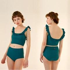 [쥴리앤칼라] Juliy Bikini Green