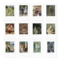 [2020 명화 캘린더] Pierre Auguste Renoir 르누아르 Type B