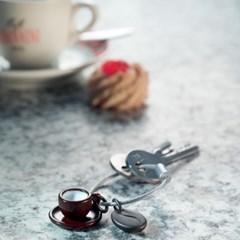 [트로이카] Coffee 2 Go 키링 (KR18-08/GM)