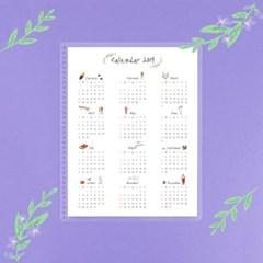 색연필달력 Schedule Board (Color Pencil Calendar)
