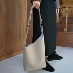 Diagonal ring point bag
