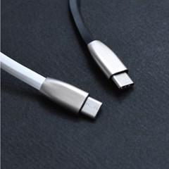 뷰에스피 USB C타입 고속충전 케이블 벌크형 화이트