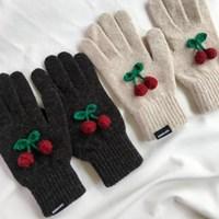 [단독할인] winter cherry gloves