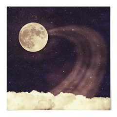 패브릭 포스터 S012 달 우주 그림 Vintage moon sky2