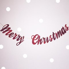 PP GARLAND - MERRY CHRISTMAS