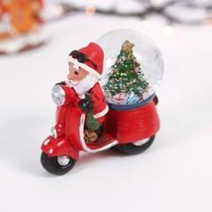 크리스마스 산타 할아버지 미니 워터볼