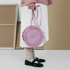 PFS PADDING CIRCLE BAG - PINK_(759150)
