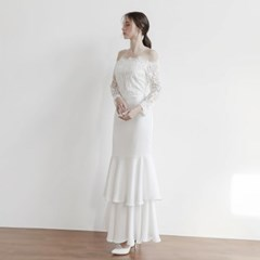 [CLAIR DE LUNE] CALLA DRESS