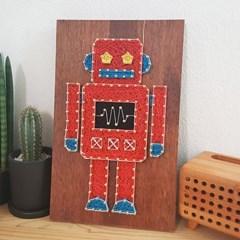 레드로봇 스트링아트(우드-Dark/LED)
