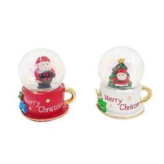 크리스마스 컵 워터볼 (2type)