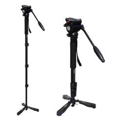 본젠 MT-837Q 스탠딩 모노포드 + MT-837H 비디오 카메라 헤드 SET