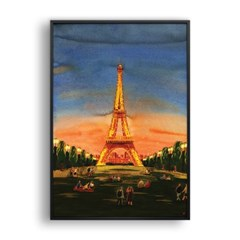 The Eiffel Tower and the Parisians