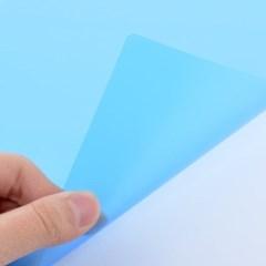 제본기 소모품 비닐커버 청색(엠보)[PP표지/0.5mm/A4]_(760976)
