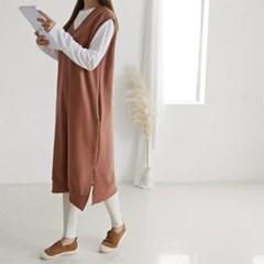 Double Gimo Vest Dress