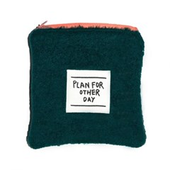 alpaca GREEN pouch