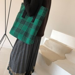 WOOL CHECK. BAG