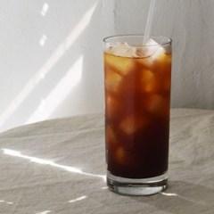 심플 일자형 롱 글라스 예쁜 홈 카페 유리컵 3 size