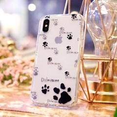 아이폰XS Doble-Dalmatian 풀커버 케이스