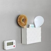 이노마타 마그넷 포켓 2사이즈 냉장고 정리 수납함