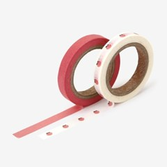 Masking tape slim 2p - 08 Peach