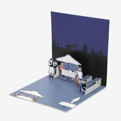 팝업 카드 - 12 Beautiful night