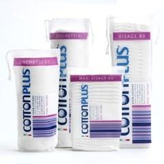 [3+1한개더]이태리 목화솜100% 코튼플러스-클래식 화장솜