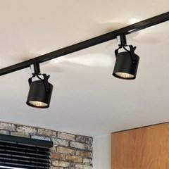 뉴 원통 스포트 1등 레일형 (LED겸용/카페조명/포인트조_(1710936)