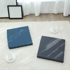 [1+1] 더편한 메모리폼 사각방석