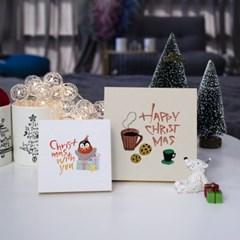 1AM 크리스마스 선물 인테리어 미니액자 주문제작 가능_(1233690)