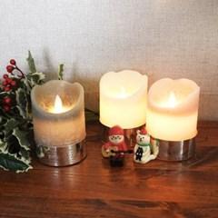 크리스마스 LED 캔들(소)