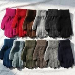 (컬러랜덤발송)Good luck wool gloves/램스울70%