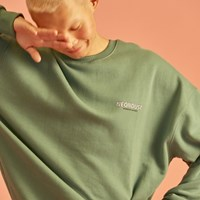 NEONDUST. 18W SWEAT SHIRT Khaki
