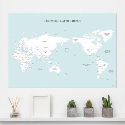 [기성]세계지도 심플