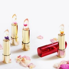 정품 칼리즈메이 태국 꽃 생화 투명 젤리 립스틱 4종
