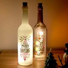 코에 와인병 LED 무드등 보틀라이트 2종 - 화이트/브라운_(1288648)