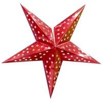 대형 페이퍼 별 (레드)