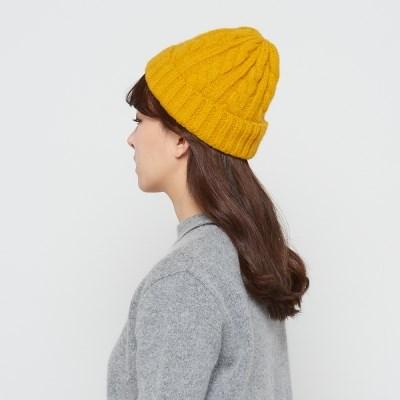[런드리맷플러스] 양모 꽈배기 비니 5color