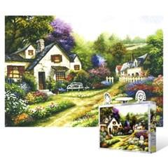 500피스 직소퍼즐 - 정원 주택