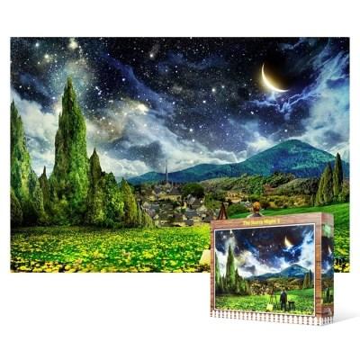 1000피스 직소퍼즐 - 반 고흐 별이 빛나는 밤