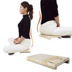 바른자세 교정 척추 수험생 좌식의자 방석 다이어트 기도의자