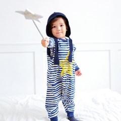 스탈라잇(블루)슬립색 유아수면조끼 아동수면조끼