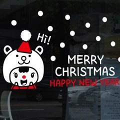 크리스마스시트지_곰돌이 방긋 성탄절_(860913)