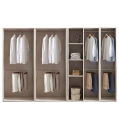 피카 오픈 드레스룸 2800세트 F(옷장+옷장+수납옷장+400_(2001832)