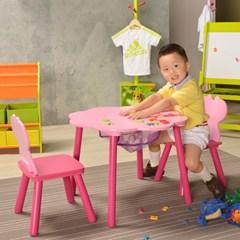 [리빙힙] 어도러블 어린이 테이블 + 의자 세트