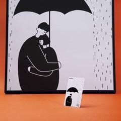 [코나카드] 우산 커플