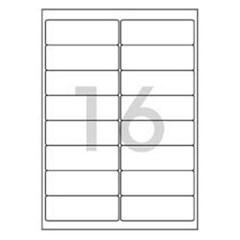 레이져 반투명라벨(LC-3107/10매/16칸/폼텍)_(13303902)