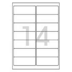 레이져 반투명라벨(LC-3108/10매/14칸/폼텍)_(13303901)