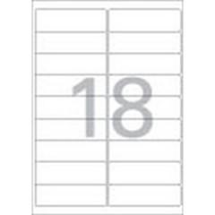 주소용 라벨(LQ-3109/20매/18칸/폼텍)_(13303922)