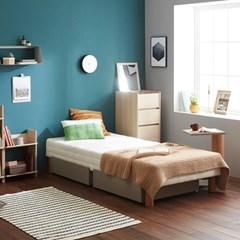 [두닷모노] 로디 서랍형 침대 MS_서랍 2EA/그레이